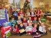 Brummitt students give holiday donation to NICU