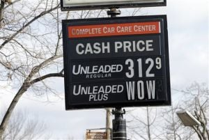 Lower gas prices lifting hopes for holiday sales