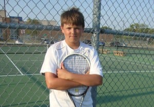 Crown Point's Bryce Bonin emerges as No. 1 singles player