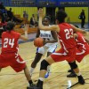 Bloom Twp. guard Breanna Perry tries to work the ball