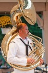 Navy Band Great Lakes performs at Festival Park