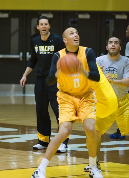 Crusaders open men's basketball practice | College ...
