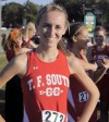 T.F. South runner Patty Stellfox