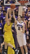 Novak helps No. 11 Michigan beat Northwestern in OT