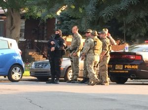 Man in custody after standoff in East Chicago