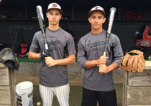 Old friends Collins, Milligan back together with Washington Township baseball