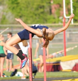 South Central high jumper Payne a two-time sectional champion