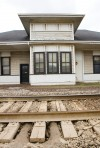 Valpo prepares to move historic train station