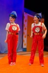"Thing One and Thing Two of ""The Cat in the Hat"" by Emerald City Theatre Company for Broadway in Chicago Run"