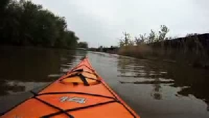 Paddling on Little Calumet