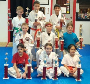 Tiger Martial Arts students compete in Christmas Tournament