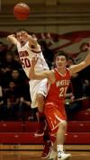 Hebron's Cody Artuso, Wheeler HS Kevin Barnes