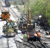 Crews work nonstop to clear train wreck in Gary