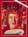 Julia Child on the Cover to Time Magazine Nov. 25, 1966