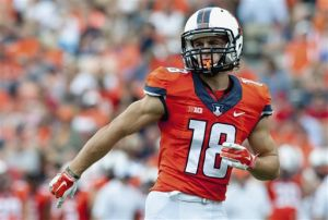 Top receivers a bright spot for Illinois