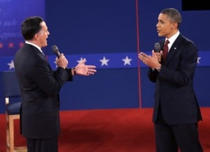 Gloves come off in presidential debate