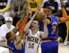 Pacers protect home court, beat Knicks