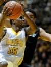 Valparaiso's Erik Buggs drives for a layup 