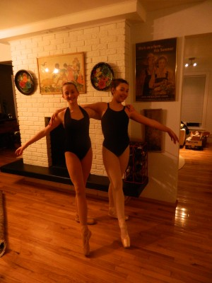 Local ballerinas take their show on the road