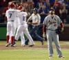 Napoli's homer lifts Rangers to 4-0 lead