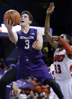 Northwestern rolls to win over UIC