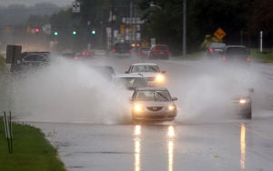 Flooding rains slam region again