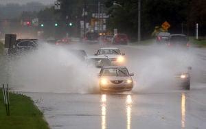 Flooding rains slam region again