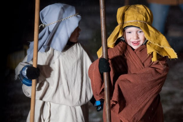 Westminster Presbyterian performs Nativity play