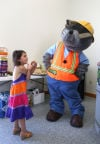 The Tri-Town Safety Village opened its new NIPSCO Learning and Safety Center building Friday.