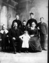 Stephen Baugman's family, circa 1870s