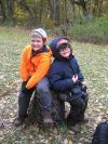 East Side Scouts hike Deep River County Park