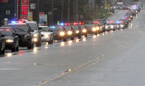 Funeral for MVPD Officer Nick Schultz