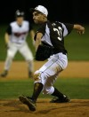 Mount Carmel relief pitcher Tyler Laurisch entered in the fourth inning