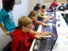 Crete youth enjoy Minecraft party at library