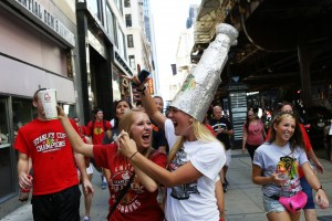Gallery: Fans celebrate the Blackhawks' Stanley Cup win