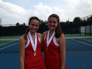 Munster doubles team of Heuer, Heiniger take consolation honors at IHSAA state tourney