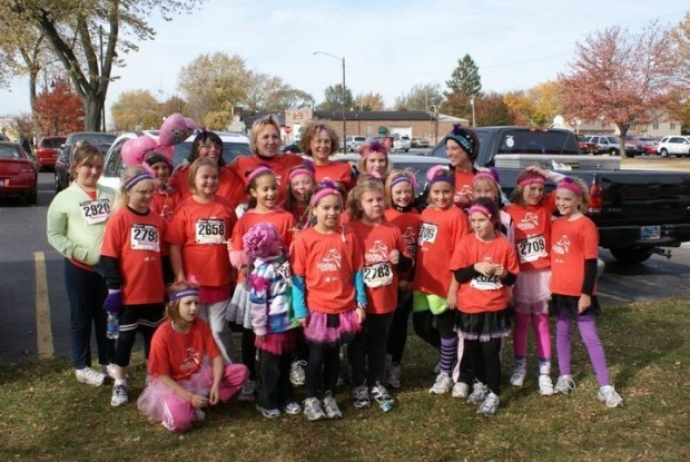 Crichfield elementary school girls on the run is so much for Laporte schools