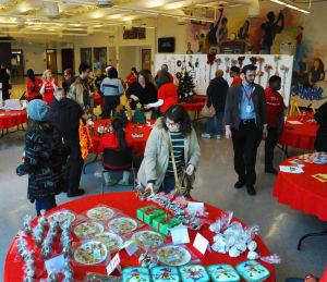 T.F. South students hold annual holiday bazaar