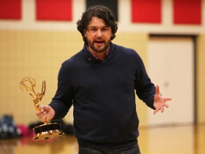 Emmy Award Winning Producer inspires students with message