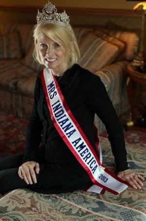 Mrs. Indiana America earns her crown