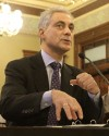 Emanuel urges Ill. lawmakers to act on pensions