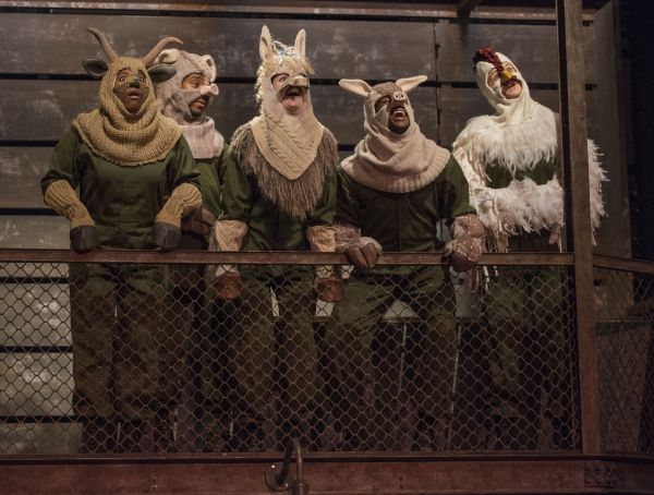 OFFBEAT with PHIL POTEMPA: Steppenwolf's 'Animal Farm' riveting, relevant stage story