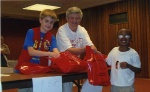 Cal City alderman distributes school supplies