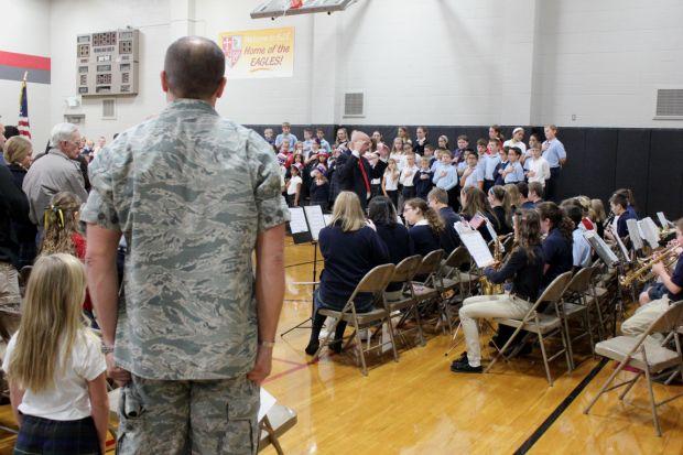 School hosts Veterans Day ceremony