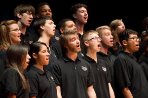 PHS Choraliers sing for rock album