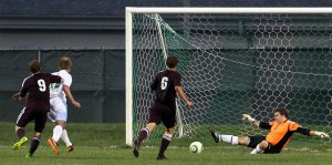 Kovar tallies twice as Valparaiso upends visiting rival Chesterton in boys soccer