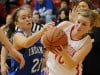 C.P. girls basketball team narrowly escapes surging Lake Central