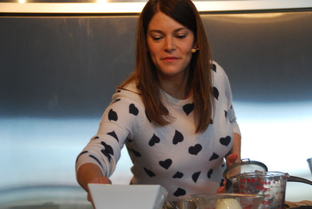 In the kitchen with Gail Simmons