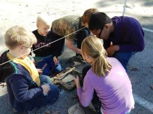 Crete kids learn survival skills