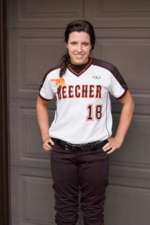 Beecher's Crews mows down Reed-Custer in softball regional semifinal